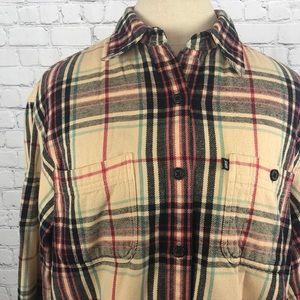 Ralph Lauren flannel button-down